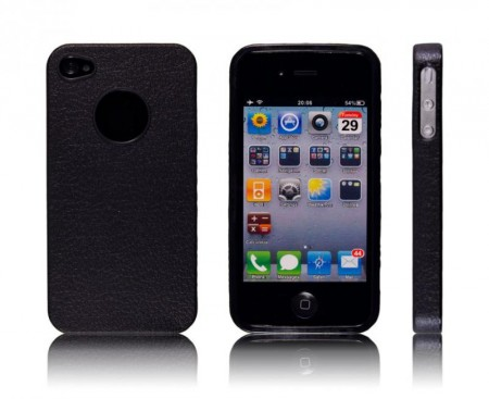 Deksel for iPhone 4 & 4S Classic Svart