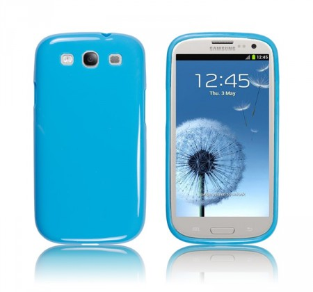 Deksel for Galaxy S3 Jelly Lys Blå