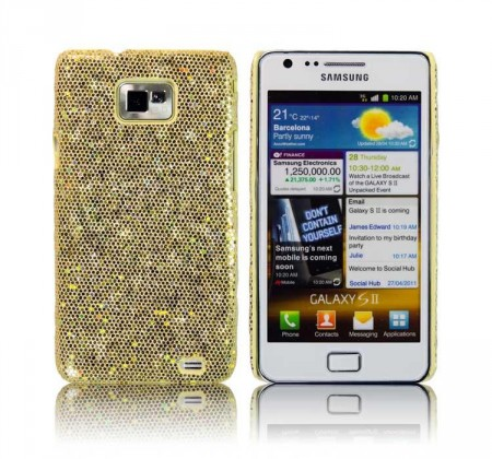 Glittercase for Samsung Galaxy S2 Gull