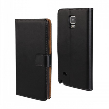 Lommebok Etui for Galaxy Note 4 Genuine