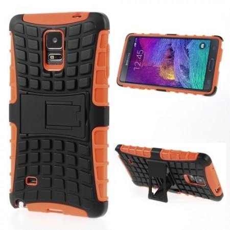 Deksel for Galaxy Note 4 Heavy-Duty Orange