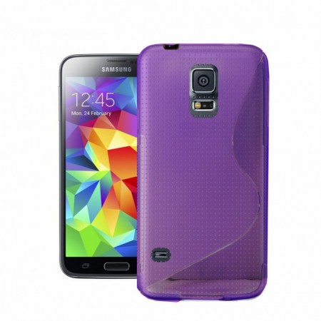 S-line Deksel for Samsung Galaxy S5 Lilla