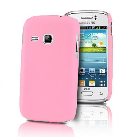 HardCase Deksel for Galaxy Young (S6310) Rosa