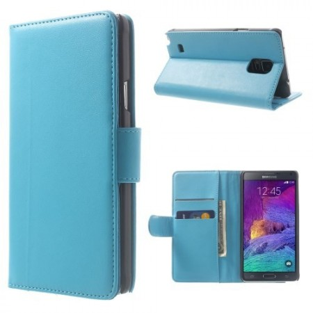 Etui for Galaxy Note 4 Smooth Turkis