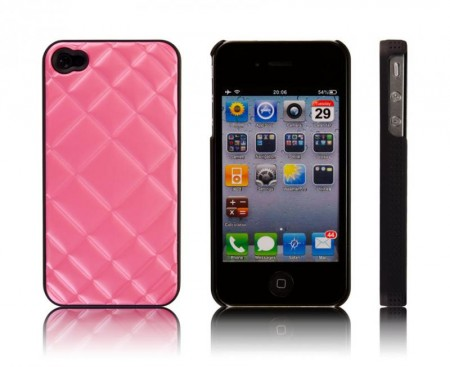 Deksel for Iphone 4/4S Pute Rosa