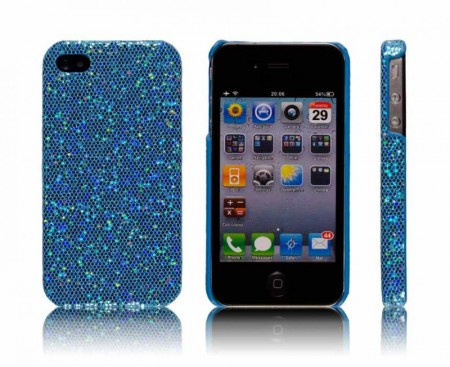 Glittercase for iPhone 4/4S Turkis