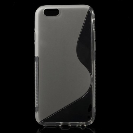 Deksel for iPhone 6 S-Line Transparent