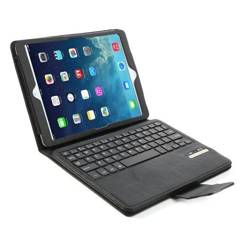 mappe etui for ipad air 2 bluetooth tastatur svart. Black Bedroom Furniture Sets. Home Design Ideas