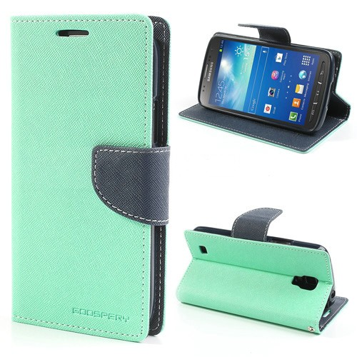 Lommebok Etui for Samsung Galaxy S5 (G900) Mercury Mint Grønn