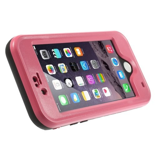 Vanntett Deksel for iPhone 6 Rosa