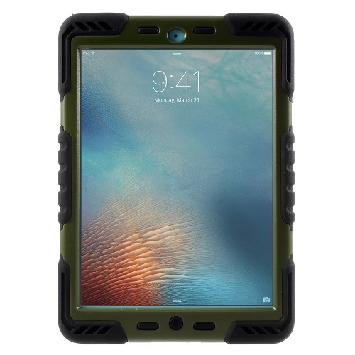 Xtreme Case Etui for iPad 9.7 (2017) Mørk Grønn