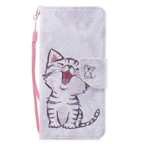 Xiaomi Mi A2 Lommebok Etui Art Cute Cat