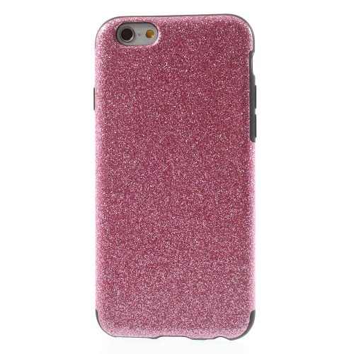 Deksel for iPhone 6/6s Glitter Rosa