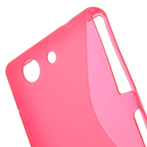Deksel Xperia Z3 Compact S-Line Rosa