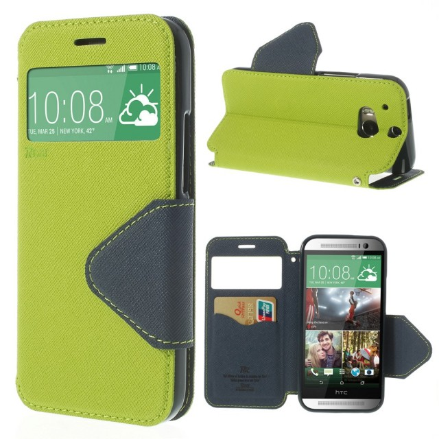 Slimbook Etui for HTC One (M8) Lime