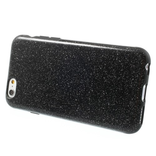 Deksel for iPhone 6/6s Glitter Svart