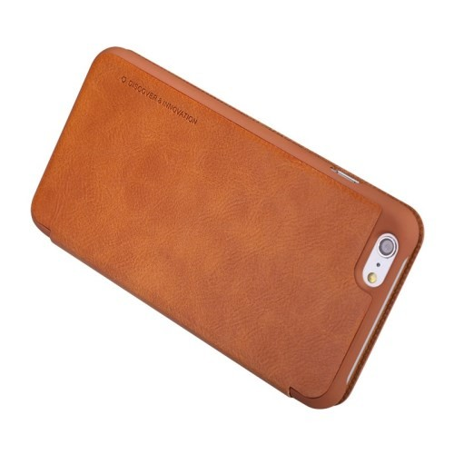 Slimbook Etui for iPhone 6/6s Qin Brun