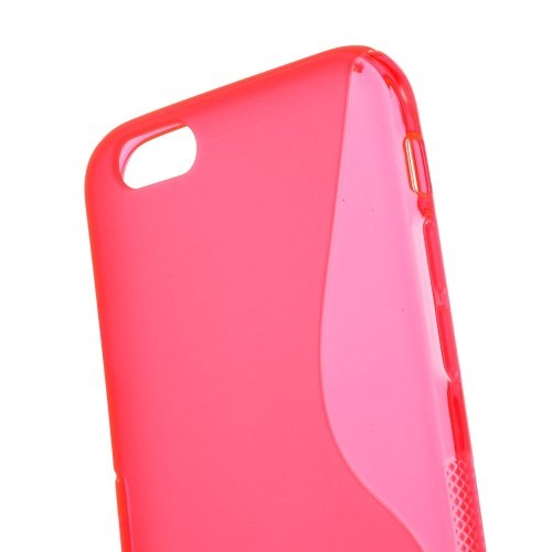 Deksel for iPhone 6 S-Line Rosa