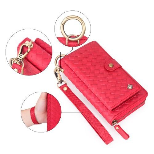 Lær Purse (Rød) iPhone 6 Veske