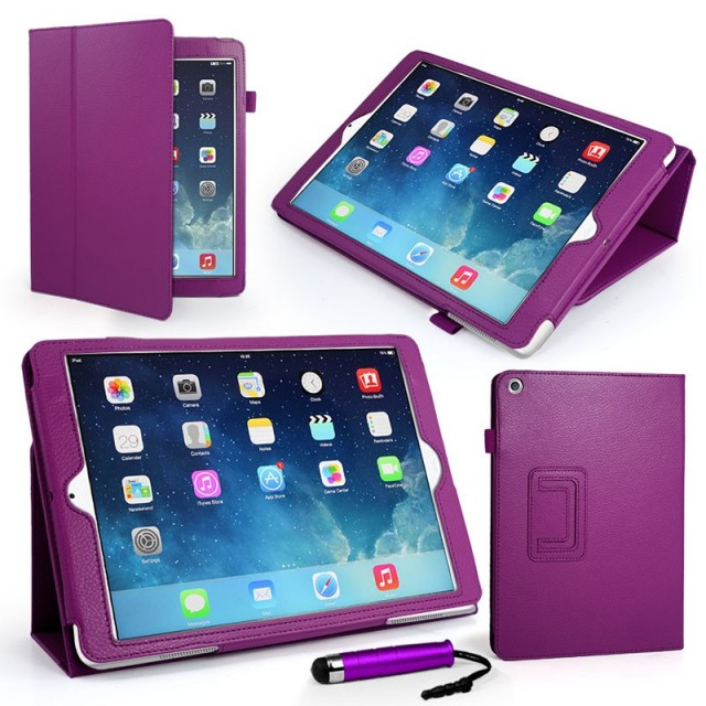 Mappe Etui Premium for iPad Air Lilla
