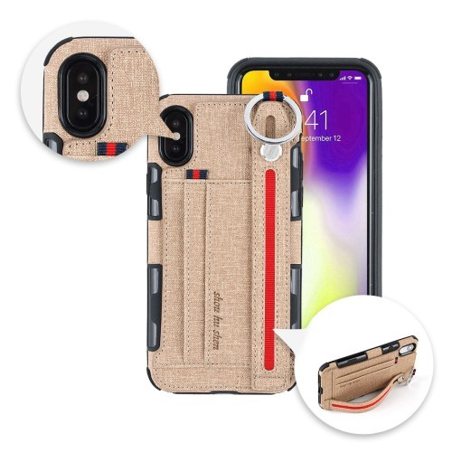iPhone Xs Max Deksel Ultimate Case Khaki