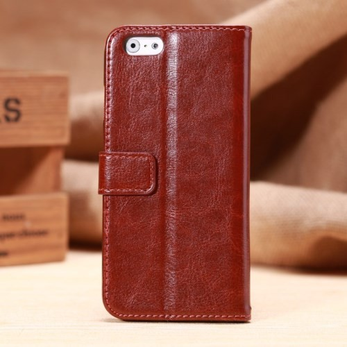 Etui for iPhone 6 Classic Smooth Brun