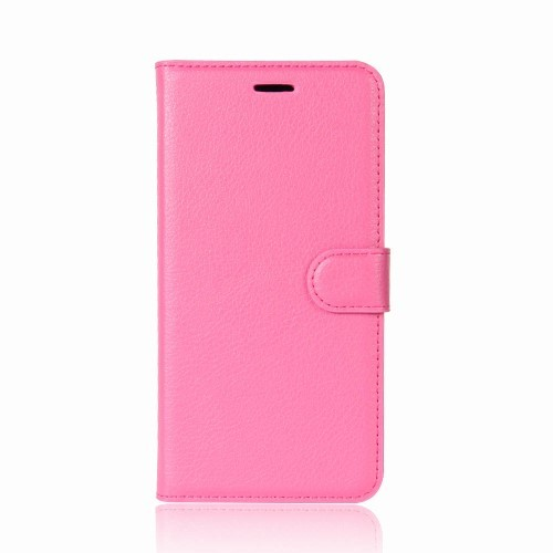 Xperia XZ2 Compact Lommebok Etui Lychee Rosa