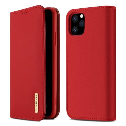 iPhone 11 Pro 5,8 Lommebok Etui Genuine Lux Rød