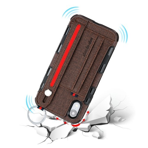 iPhone XR Deksel Ultimate Case Kaffebrun