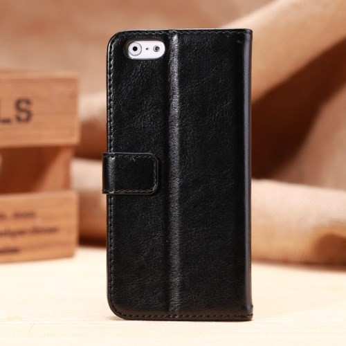 Etui for iPhone 6 Classic Smooth Svart
