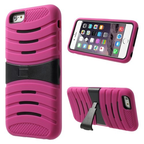 Deksel for iPhone 6 Pluss Heavy-Duty Rosa