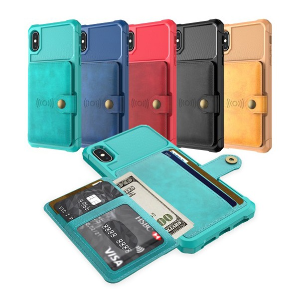 iPhone 6 Pluss / 7 Pluss / 8 Pluss Deksel Armor Wallet