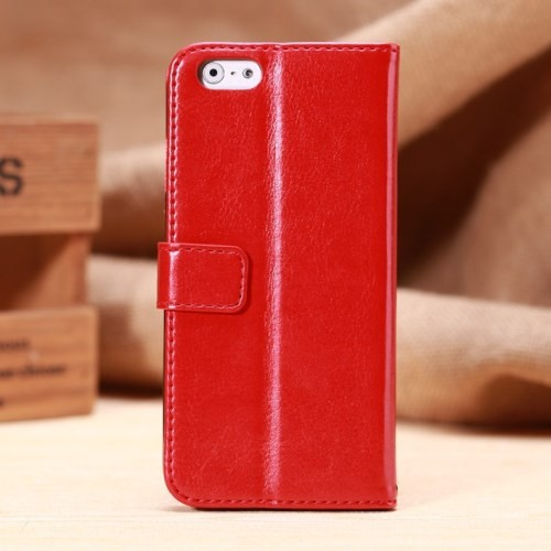 Etui for iPhone 6 Classic Smooth Rød