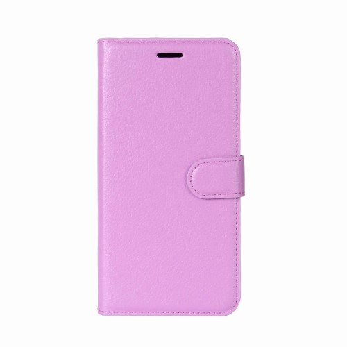 Xperia XZ2 Compact Lommebok Etui Lychee Lilla