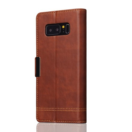 Etui for Galaxy Note 8 Smooth Brun