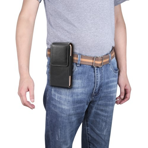 Universal Mobilveske Stående mbeltefeste XL   Etuier