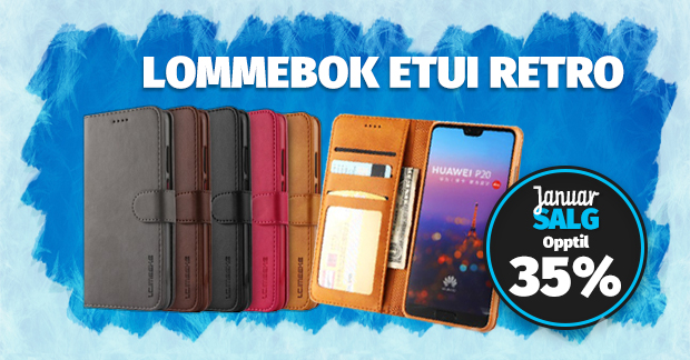 Lommebok Etui Retro optil 35%