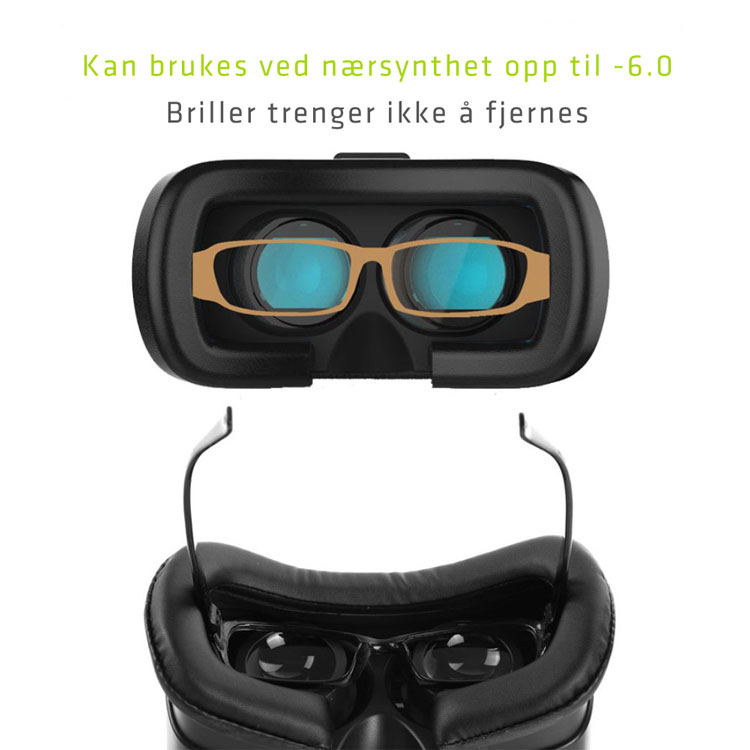 VR Briller for nærsynte