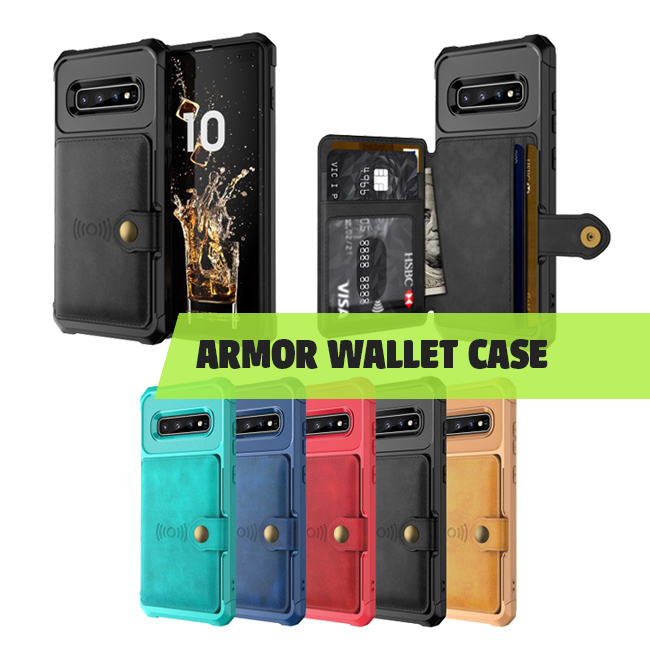 Armor wallet case